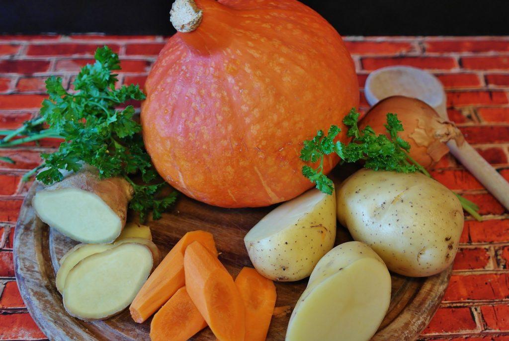 Kürbis-Kartoffel-Karottensuppe • the art of cancer living